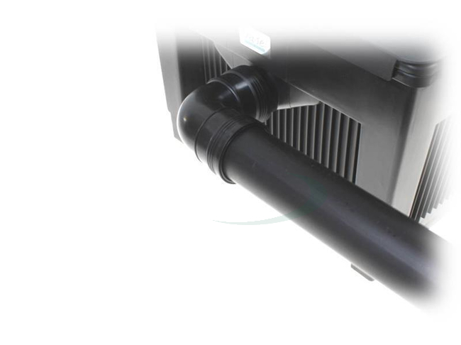 PP Muffe Ø 75mm mit Gummidichtungen
