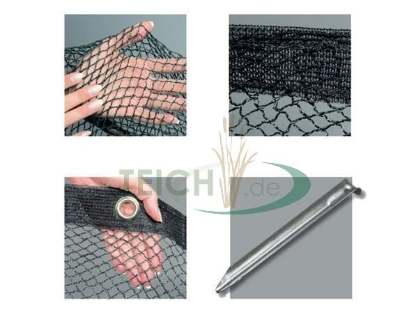 Reiher Teichabdecknetz Cover Net Laubnetz Vogelnetz Schutz gg Velda Qualitäts