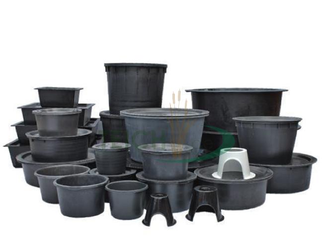 pe becken rund 122 cm h he 82 cm volumen 750 liter f r. Black Bedroom Furniture Sets. Home Design Ideas